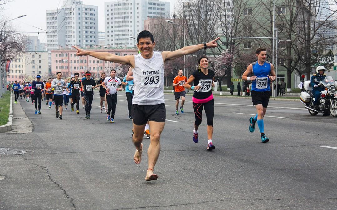 Pyongyang Marathon 1